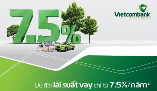 Bảng tính lãi suất vay ngân hàng Vietcombank
