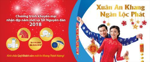 Ngân hàng Bản Việt triển khai chương trình khuyến mại Xuân An khang Ngàn Lộc phát