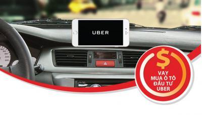 Vay mua ô tô đầu tư Uber với lãi suất chỉ từ 5,99% tại Maritime Bank