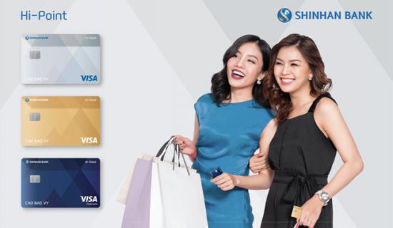 có nên mở thẻ tín dụng shinhan bank