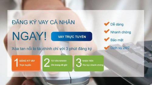Đăng ký Vay tiêu dùng Online - Vay tiêu dùng trả góp tín chấp