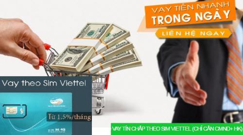 FE Credit cho vay tiền mặt bằng SIM Viettel