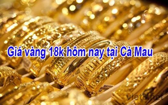 Giá vàng cà mau hôm nay