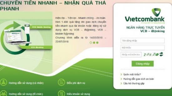 Hướng dẫn sử dụng dịch vụ Vietcombank Internet Banking chi tiết nhất