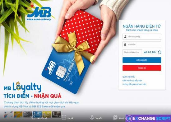 MBbank online Ngân hàng số ngân hàng quân đội MBBank