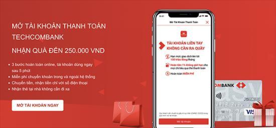 Hướng dẫn đăng ký tài khoản Techcombank