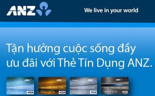 Mở thẻ tín dụng anz