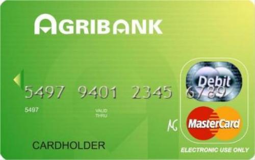 Mở thẻ tín dụng ngân hàng Agribank
