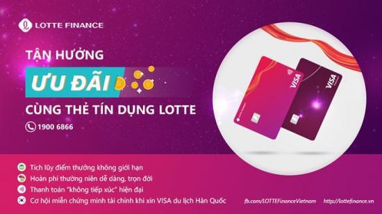 Mở thẻ tín dụng Lotte Finance