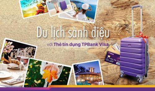 Mở thẻ tín dụng TPBank tặng Vali