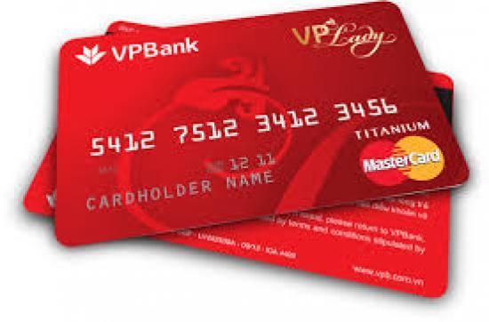 Làm thẻ tín dụng VPBank, Mở thẻ tín dụng 100% online