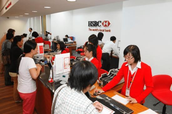 Tổng đài HSBC, tổng đài Hotline ngân hàng HSBC