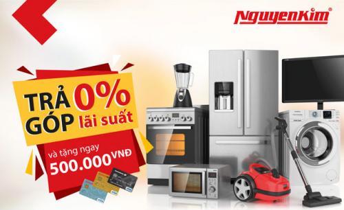 Hướng dẫn mua hàng trả góp lãi suất 0% tại Nguyễn Kim