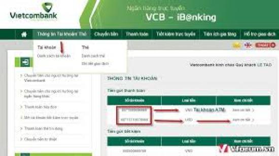 Sao kê lương vietcombank, Hướng dẫn cách sao kê bảng lương ngân hàng Vietcombank