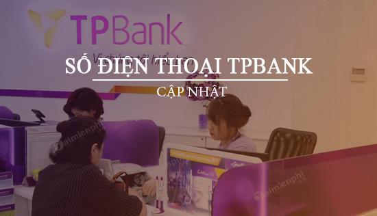 Số điện thoại ngân hàng Tiên Phong