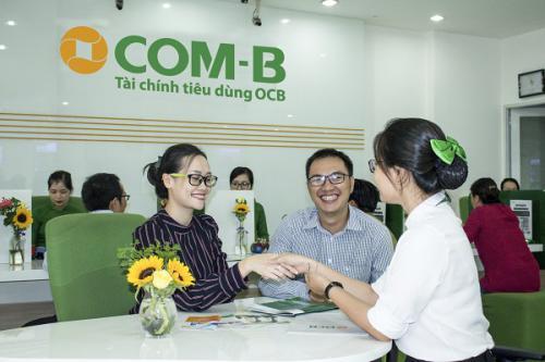 Cho vay tiêu dùng tín chấp COM-B OCB