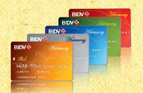 Thẻ tín dụng quốc tế Ngân hàng BIDV