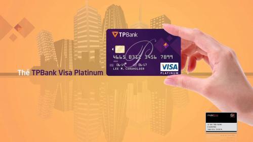Thẻ tín dụng Đồng thương hiệu MobiFone - TPBank Visa Platinum