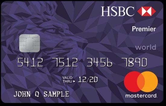 Thẻ tín dụng HSBC, Mở thẻ tín dụng HSBC
