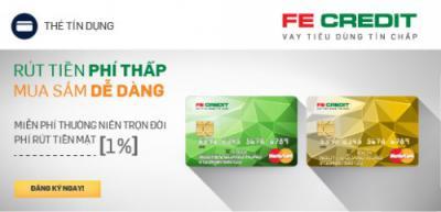 Tư vấn lợi ích khi vay tiền qua thẻ tín dụng Quốc tế FE Credit
