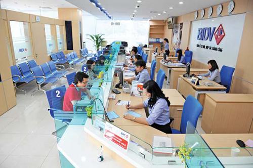 Thủ tục vay tín chấp ngân hàng BIDV