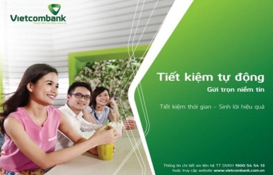 Gửi tiết kiệm online ngân hàng Vietcombank, Lãi suất gửi tiết kiệm VCB online