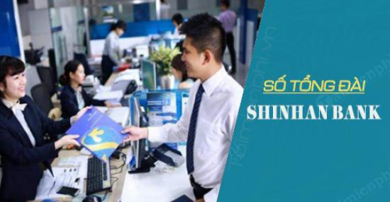 Hotline Shinhan, Số tổng đài ngân hàng Shinhan Bank