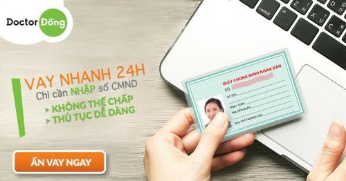 Hướng dẫn vay lại Doctor Đồng Hướng dẫn điền thông tin vay Online