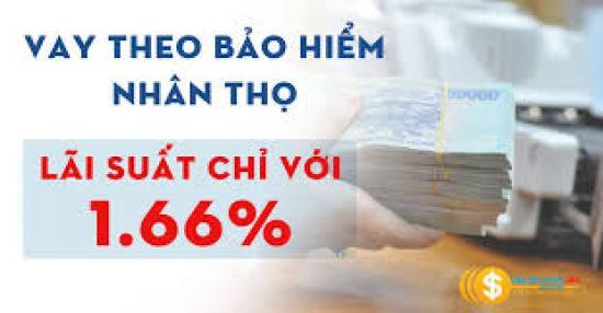 Vay theo bảo hiểm nhân thọ Vietcombank