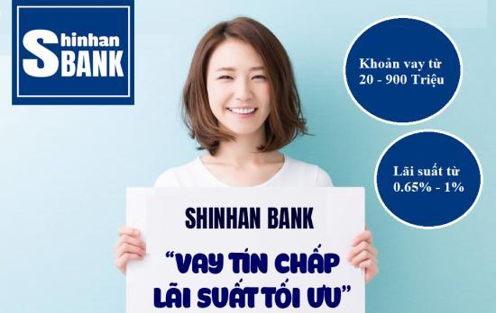 Vay theo lương Shinhan Bank