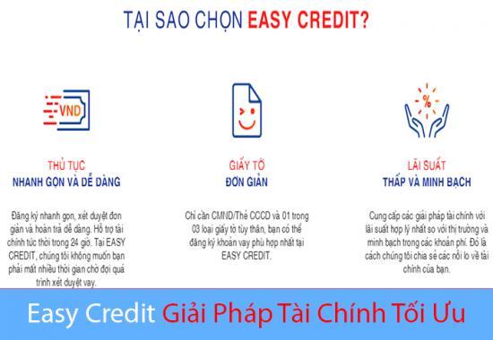Vay tiền Easy Credit, Vay Easy Cred Lãi suất siêu hấp dẫn