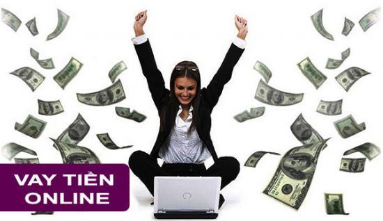 Vay tiền online tại nhà, thủ tục vay 100% online