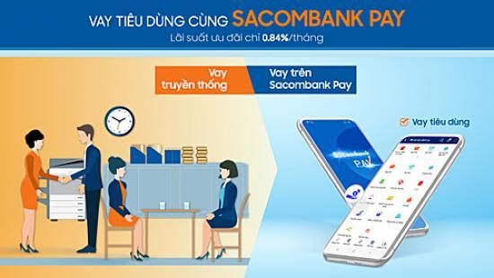 Vay tiêu dùng Sacombank Pay