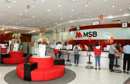 Vay tiêu dùng trả góp tại MSB