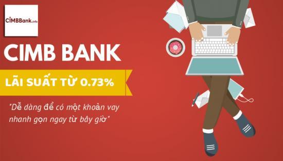 Vay tín chấp cimb-bank