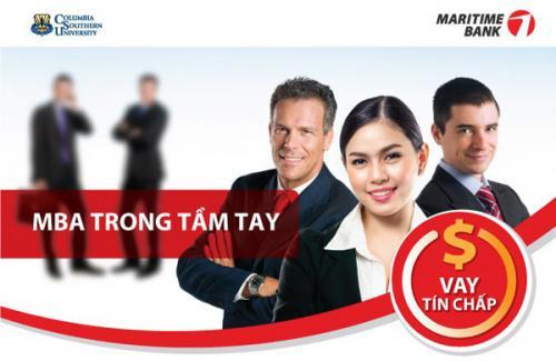 Maritime Bank cho vay tín chấp lên đến 24 lần thu nhập