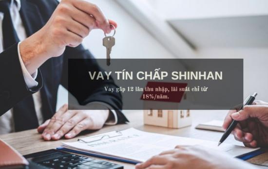 Vay theo lương Shinhan Finance
