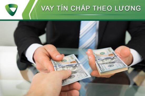 Vay tín chấp theo lương Vietcombank