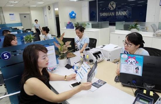 Vay tín chấp theo lương Shinhan Bank
