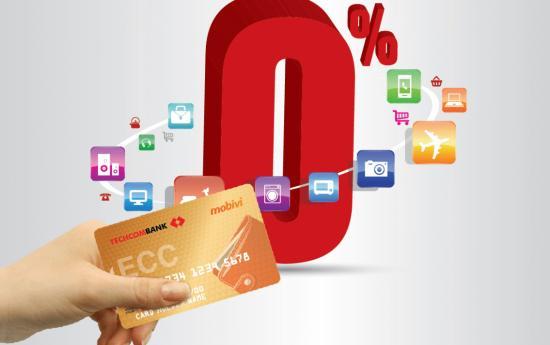 Vay trả góp qua thẻ tín dụng