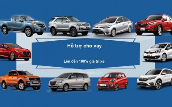 Vay trả góp mua ô tô, Lãi suất vay trả góp mua ô tô