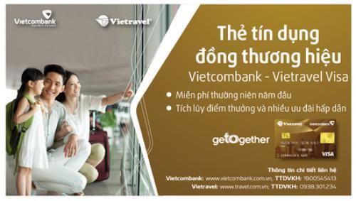 Vietcombank triển khai chương trình khuyến mãi dành cho thẻ đồng thương hiệu