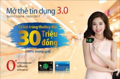 Nhận ngay 5000 dặm bay khi mở thẻ tín dụng Viet Capital Visa