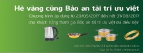 Vietcombank Vui xuân cùng Bảo an tài trí ưu việt