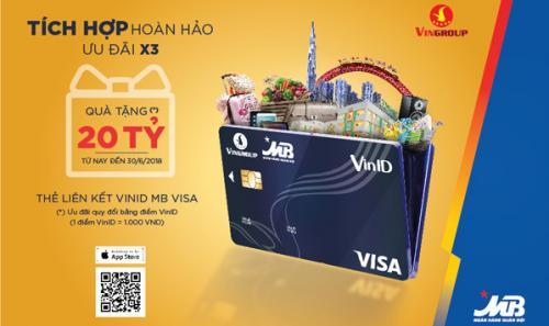 Vingroup hợp tác với Ngân hàng TMCP MB ra mắt thẻ liên kết VinID-MB Visa