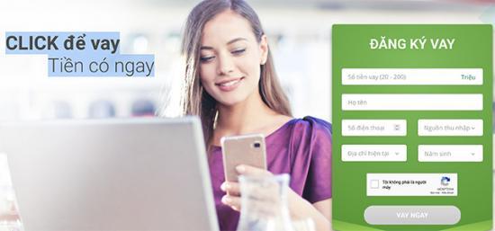 VPBank CLICK để vay Tiền có ngay, Cách vay tiền online VPBank