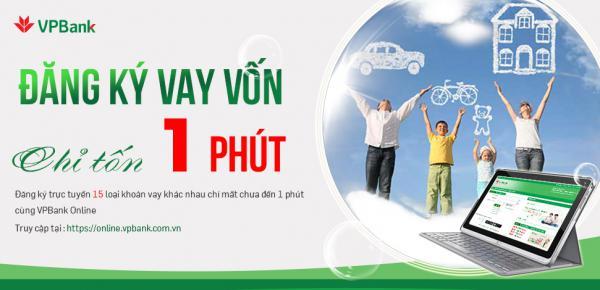 Đăng ký Vay VPBank Online