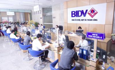 Vay tieu dùng tín chấp BIDV
