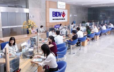 Vay tín chấp theo lương chuyển khoản BIDV