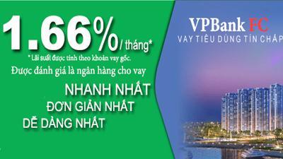 Vay tiêu dùng tín chấp theo lương FE VPBank